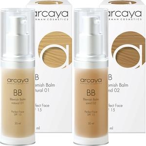 Arcaya BB (Blemish Balm) Cream - Sand 02 - darker nuance colour - 30ml | Mikay Health