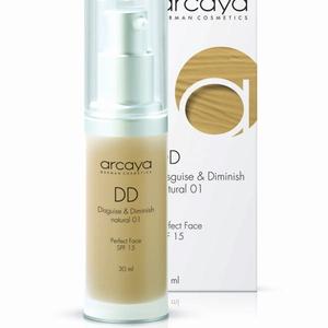 Arcaya DD (Disguise & Diminish) Cream - Natural 01 - 30ml   Mikay Health