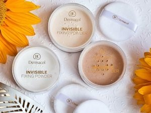 Dermacol Invisible Fixing Powder – Banana – 13.5g