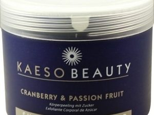 Kaeso Beauty Sugar Body Scrub – Cranberry & Passion Fruit – 450ml