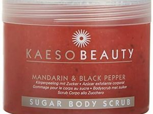 Kaeso Beauty Sugar Body Scrub – Mandarin & Black Pepper – 450ml