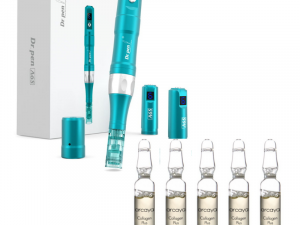 Dr.Pen Ultima A6S (Battery Operated & Corded) & Arcaya Collagen Plus Ampoules