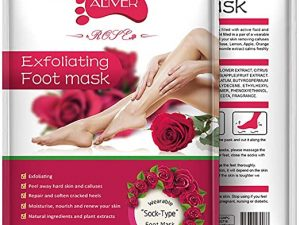 Rose Exfoliating Foot Mask