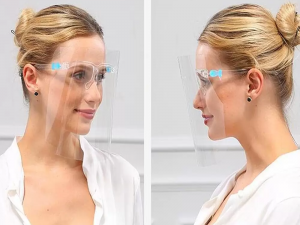 Full Face Shield with Comfortable Glasses – Pack of 1