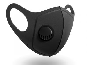 Reusable Sponge Face Mask with 1 Breathing Valve