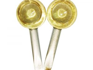 Ice Globes Facial Rollers (Gold Glitter)