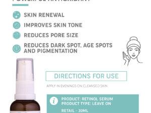 The Skin Lab Vit A Concentrate Serum (30ml)