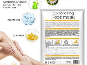 Camomile Exfoliating Foot Mask