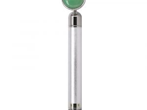Jade Quartz Energy Beauty Bar with Silver Handle