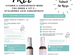 The Skin Lab Vit C + Hyaluronic Acid Concentrate Promo