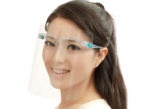 Face Shield with Comfortable Glasses – Pack of 5