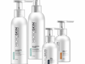 MicroSkin Skincare Set with Cleansing Lotion