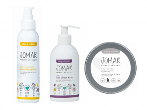 """Jomar Natural Skincare """"It's A Surprise"""" Baby Shower Gift Set"""