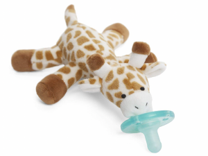 Infant Pacifier with Retro Giraffe