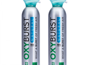 Oxyburst Pure Natural Oxygen 12L x 2 (Duo Pack)