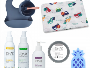 """Jomar Natural Skincare """"It's A Boy"""" Baby Shower Gift Combo"""