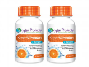 Oxygen Products Super Vitamins + Oxygen Capsules (60 x 2)