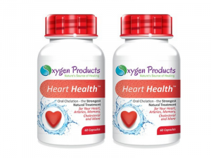 Oxygen Products Heart Health Capsules (60 x 2)