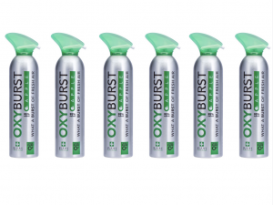 Oxyburst Pure Natural Apple Flavoured Oxygen 12L x 6 (Box of 6)