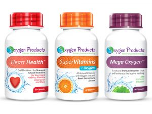 Oxygen Products Healthy Heart Combo