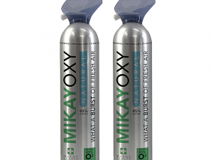 MikayOxy 95% Oxygen 18L x 2 (Duo Pack)