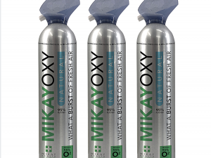 MikayOxy 95% Oxygen 18L x 3 (Pack of 3)